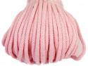 sznurek bawełniany 5mm różowy