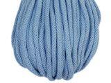 sznurek bawełniany 5mm -niebieski