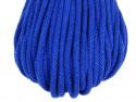 sznurek bawełniany 5mm chabrowy