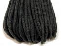 sznurek bawełniany 5mm grafitowy