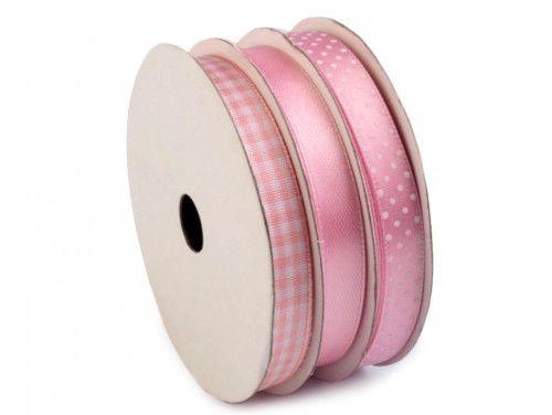 wstążki ozdobne 3x5m, różowe