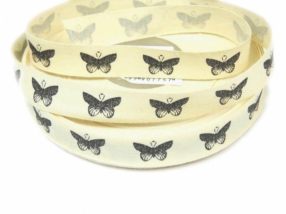 wstążka bawełniana motyle