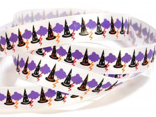 wstążka satynowa czapki czarodzieja
