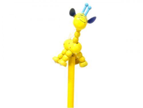 ołówek żyrafa żółta