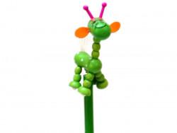 ołówek żyrafa zielona