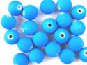 koraliki akrylowe neonowe niebieskie