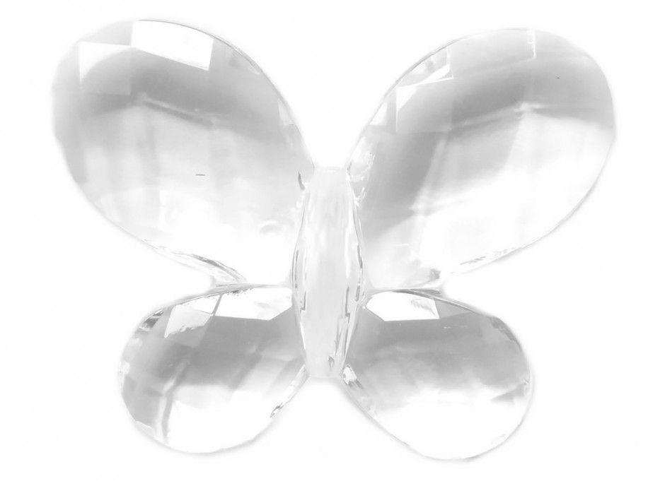 zawieszka plastikowa motylek mały