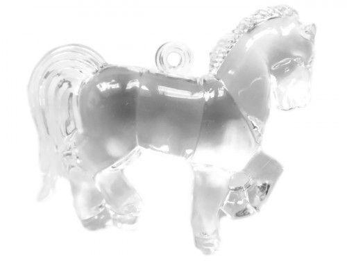 zawieszka plastikowa koń
