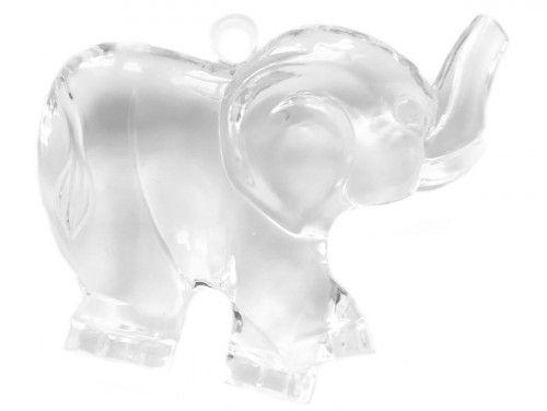 zawieszka plastikowa słoń duży