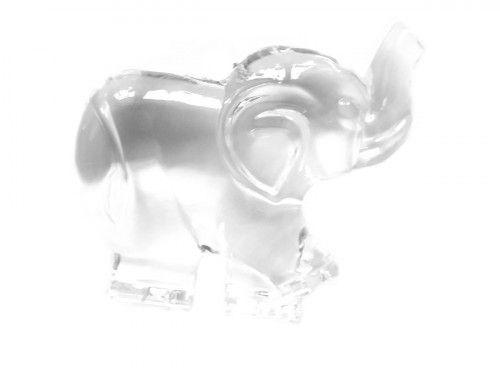zawieszka plastikowa słoń mały