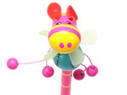 ołówek nosorożec hipopotam z wiatraczkiem