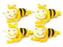 pszczółki z filcu 4szt samoprzylepne