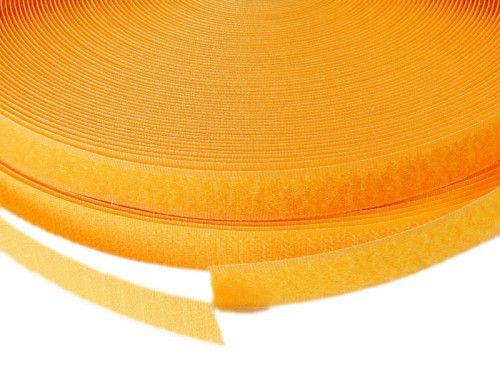 Taśma rzep 16 mm żółta
