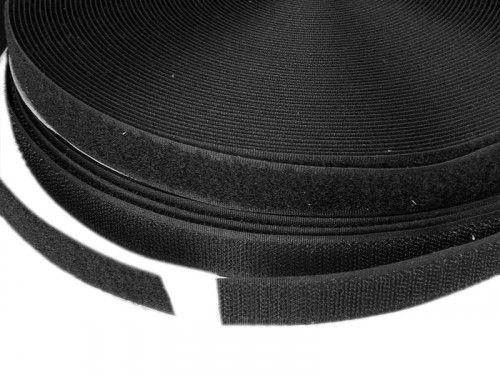 Taśma rzep czarny szer 20mm
