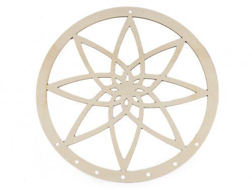 koło drewniane na łapacz snów