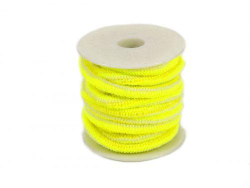 guma okrągła 5 mm żółta