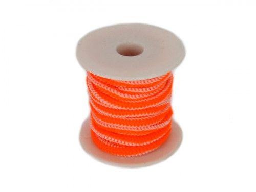 guma okrągła 5 mm pomarańczowa