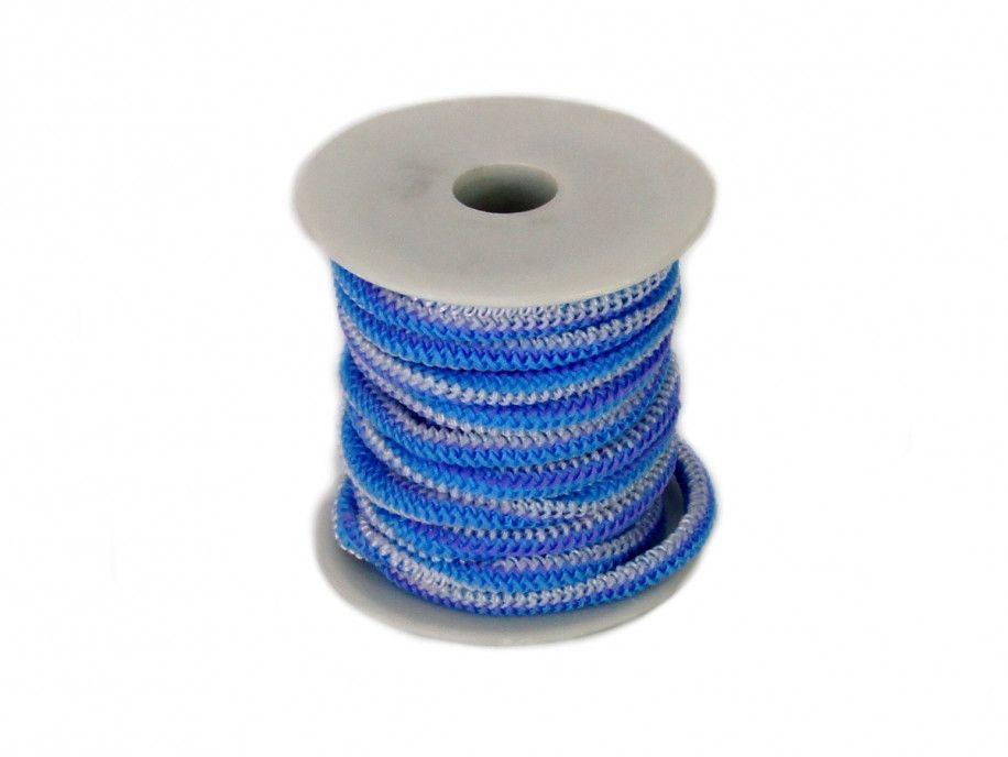 guma okrągła 5 mm niebieska