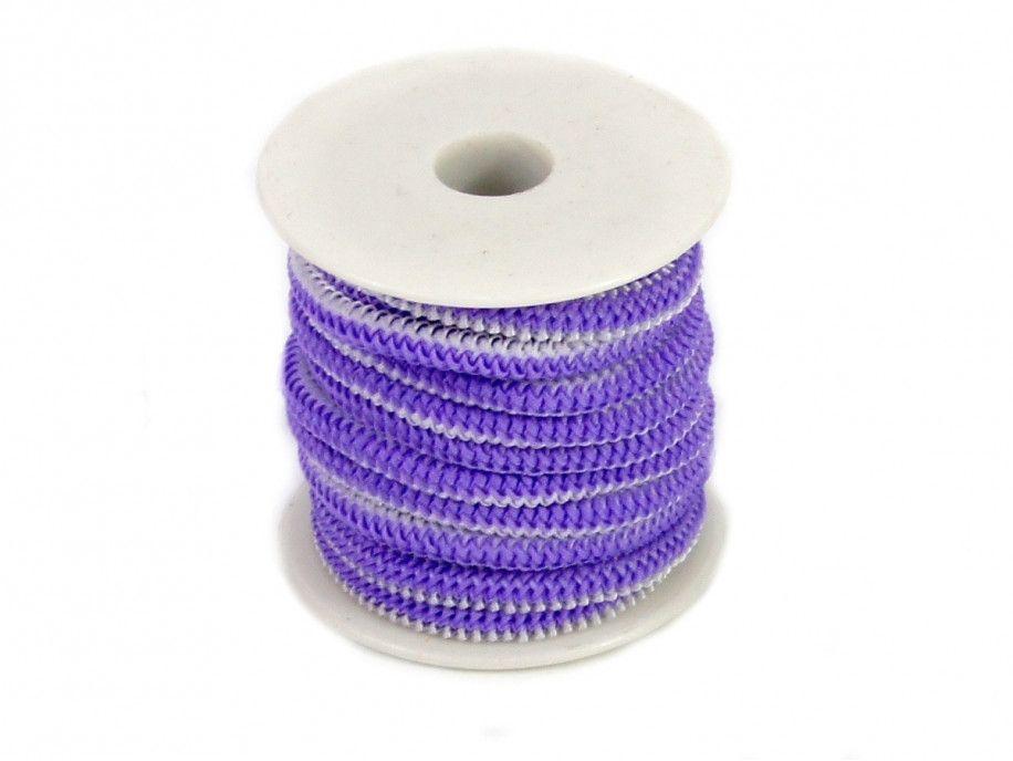 guma okrągła 5 mm fioletowa