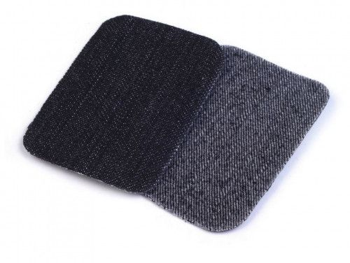 łatki termoprzylepne JEANS mini czarne