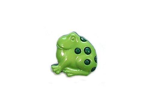 Guziczek dziecięcy żaba