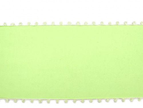 wstążka szyfonowa seledynowa 11,5 cm