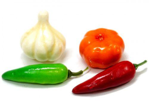 Warzywa ozdobne 4 sztuki