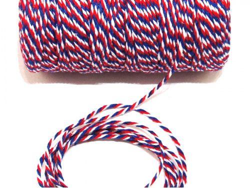 sznurek bawełniany 1,5 mm kolorowy-10m.