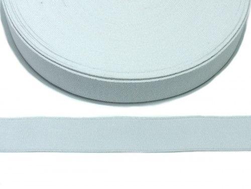 guma tkana biała 30mm