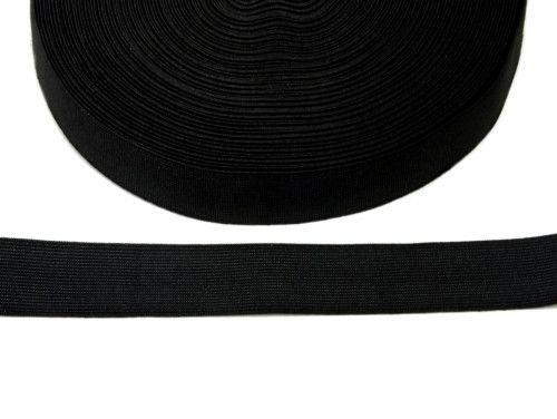 guma tkana czarna 30mm
