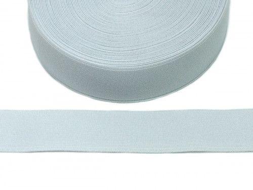 guma tkana biała 40mm