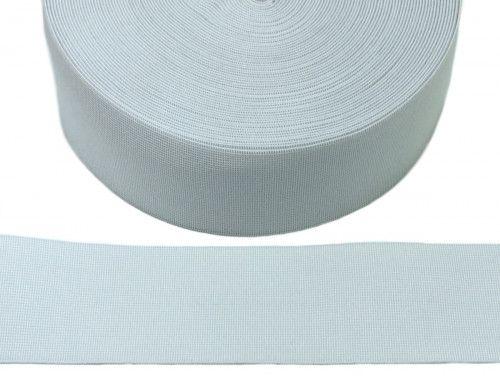 guma tkana biała 60mm