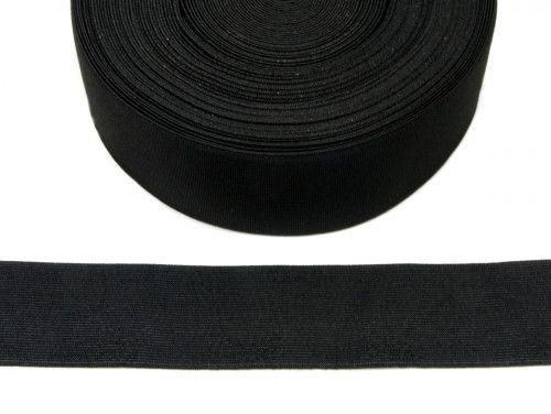 guma tkana czarna 50mm