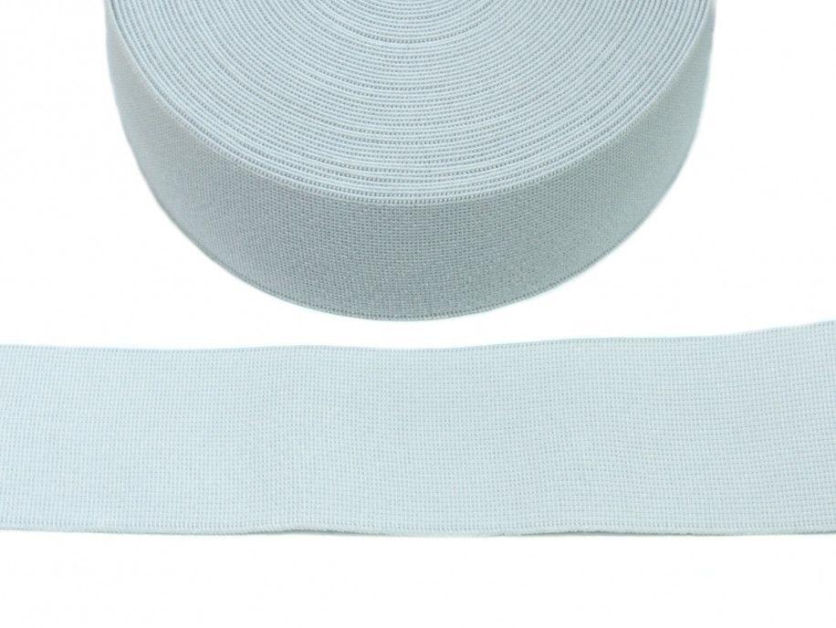 guma tkana biała 50mm