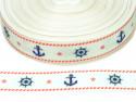 wstążka rypsowa marynarska